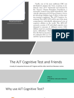 AJT Cognitive test & Friends