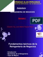 UAP Reingenieria de Negocios - Clase 1.Ppt
