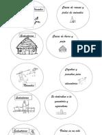 Memorice Pueblos Nómades y Sedentarios