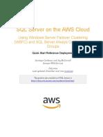 (AWS) Microsoft WSFC and SQL AlwaysOn Quick Start