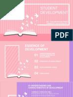 Student development by yosi silitonga.pptx