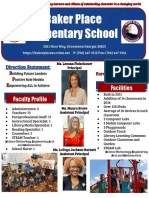 2019-2020 BPE School Profile