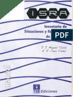 263898416 Inventario de Situaciones y Respuestas de Ansiedad IsRA Manual y Protocolo