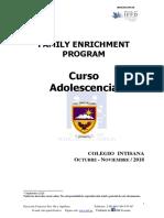 ADOLESCENCIA INTISANA 2018
