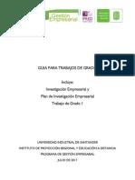 Guías para presentación de proyectos