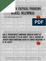 Moral Dilemma Ethics