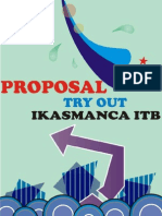Proposal Try Out Ikasmanca 2009