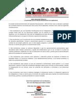 05sep2019 - Comité Central - Llamado a Participar de La Protesta Nacional Del 5 de Septiembre