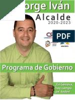 14042 Programa de Gobierno Jorge Ivan Osorio