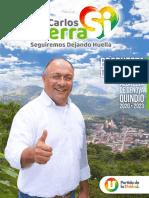 14044 Programa de Gobierno Carlos Albertos Sierra