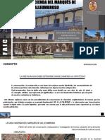 La Casa Hacienda Del Marqués de Valleumbroso-Isaac Quispe
