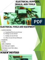 1 Tle 8 Prepare Electrical Supplies, Materials, And Tools 1