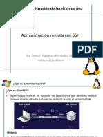 2. Administración Remota Con SSH