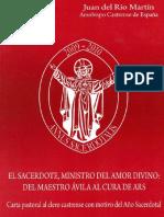 Carta Pastoral del Maestro de Avila al cura de Ars