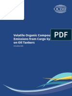 Volatile Organic Compound Emissions From Cargo Systems on Oil Tankers