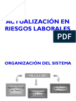 Actualización Legal en Riesgos Laborales