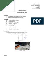 Lab1 - Características Del Diodo