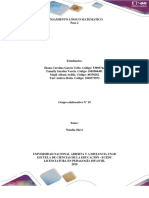 Desarrollo del pensamiento logico matematico