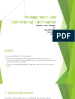 Management and Operational Information