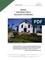 Manual Diretrizes Para a Educação Patrimonial