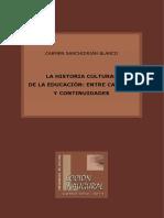 La historia cultural de la educación
