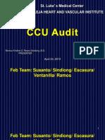 CCU Audit