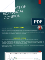 Concepts of Biological Control