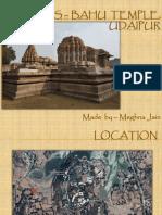 Saas – Bahu Temple, Udaipur
