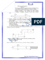 Exercícios Mecânica dos fluidos