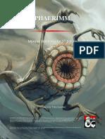 Phaerimm Copy Ready