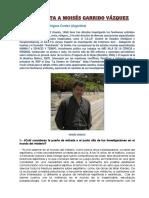 Garrido,Moises,Entrevista Por MCR Corderi