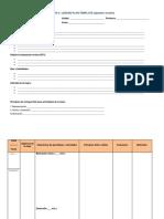 Appendix 4 - Lesson Planning Template