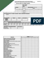 Tarjeta de Evaluacion