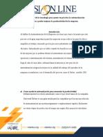 Analizar El Alcance de La Tecnología Para Poner en Práctica La Automatización Administrativa.
