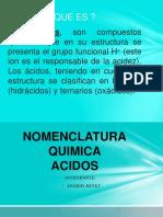 NOMENCLATURA QUIMICA (ACIDOS)