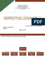 Aspecto Legales Robersy Lucena