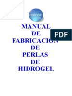 MANUAL DE FABRICACIÓN DE PERLAS DE HIDROGEL