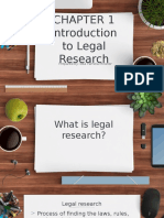 Legal Research by Rodriguez Chapter 1-2 (Presentation)