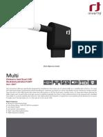 Dielectric Quad 23mm LNB - Inverto.tv