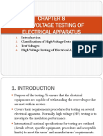 CHAPTER 10- High Voltage Testing