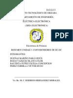 Resumen  electrónica de Potencia