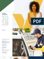 Informe de Gestion 2018 Gas Natural