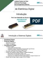 Capítulo 00 - Introdução a Sistemas Digitais
