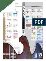 Calendario Uaz 2019-2020 (Tabloide Vf)