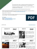 History cronology