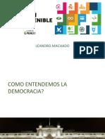 Leandro Machado - Presentación Bloque Paz