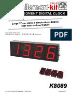 Segment Digital Clock Kit