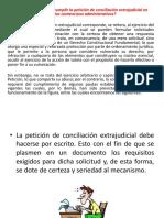 Requisitos conciliación