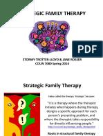 Stretegic Family Therapy