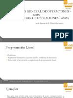 03 Programación Lineal